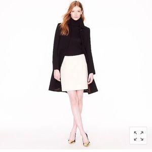 J Crew mini wool skirt